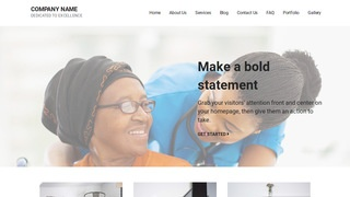 Mins Nursing Agency WordPress Theme