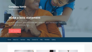 Primer Nursing Agency WordPress Theme