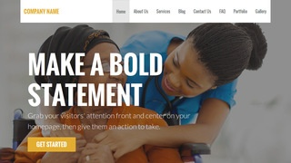 Stout Nursing Agency WordPress Theme
