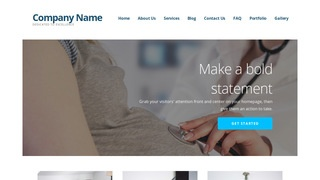 Ascension Obstetrician and Gynecologist WordPress Theme