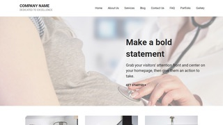 Mins Obstetrician and Gynecologist WordPress Theme