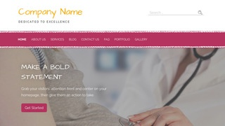 Scribbles Obstetrician and Gynecologist WordPress Theme