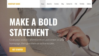 Stout Obstetrician and Gynecologist WordPress Theme