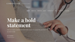 Velux Obstetrician and Gynecologist WordPress Theme
