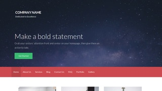 Activation Observatory WordPress Theme