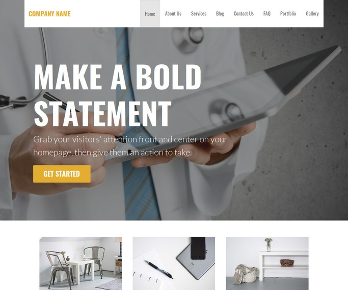 Stout Occupational Medicine Physician WordPress Theme