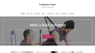 Uptown Style Occupational Therapy WordPress Theme
