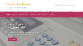 Scribbles Office Equipment WordPress Theme
