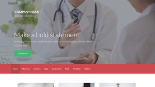 Activation Oncologist WordPress Theme