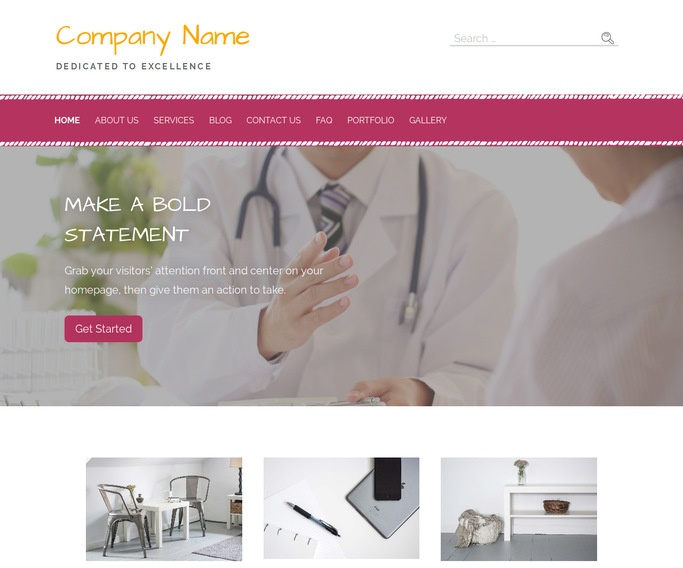 Scribbles Oncologist WordPress Theme