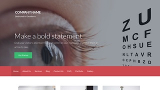 Activation Ophthalmologist WordPress Theme