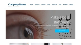 Ascension Ophthalmologist WordPress Theme