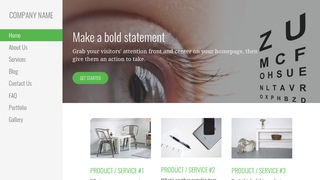Escapade Ophthalmologist WordPress Theme