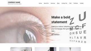 Mins Ophthalmologist WordPress Theme