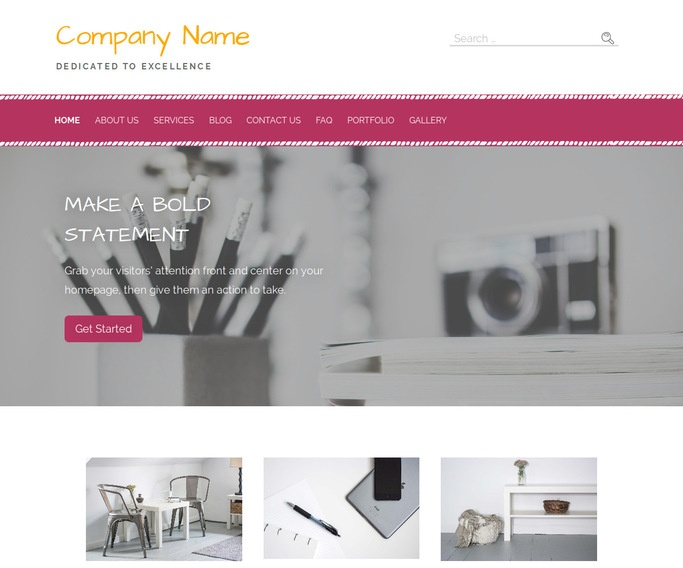 Scribbles Other WordPress Theme