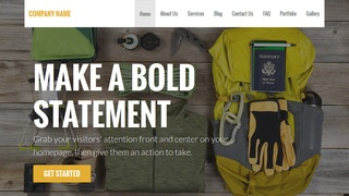 Stout Camping and Outdoor Gear WordPress Theme