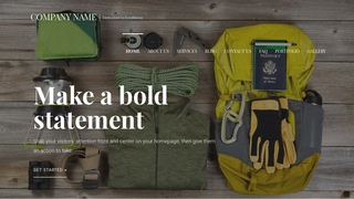 Velux Camping and Outdoor Gear WordPress Theme