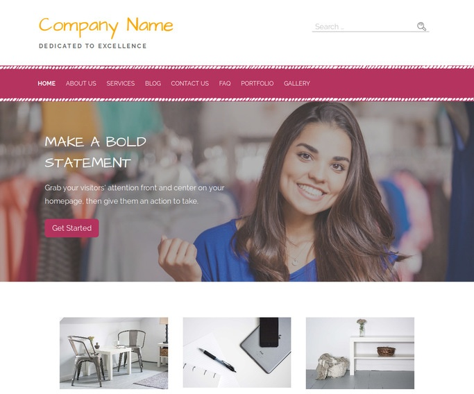 Scribbles Outlet Store WordPress Theme