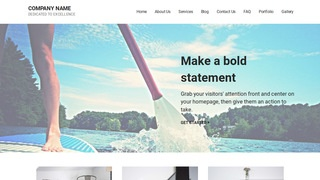 Mins Paddle Boarding WordPress Theme