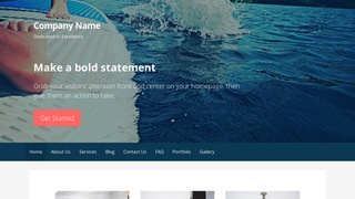 Primer Paddle Boarding WordPress Theme