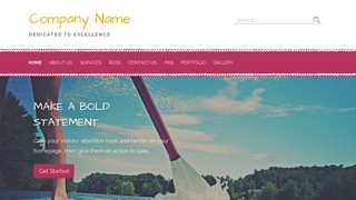 Scribbles Paddle Boarding WordPress Theme