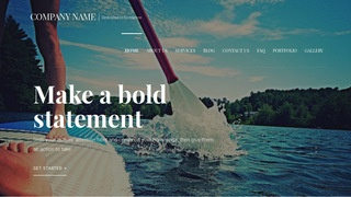 Velux Paddle Boarding WordPress Theme