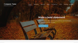 Lyrical Park WordPress Theme