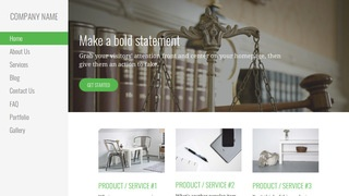 Escapade Patent Law WordPress Theme