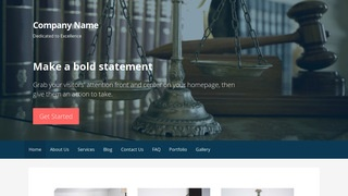 Primer Patent Law WordPress Theme