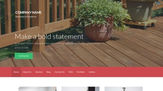 Activation Patio Builder and Supplier WordPress Theme