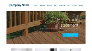 Ascension Patio Builder and Supplier WordPress Theme