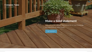 Lyrical Patio Builder and Supplier WordPress Theme