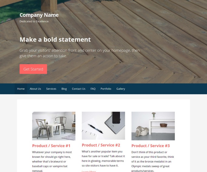 Primer Patio Builder and Supplier WordPress Theme