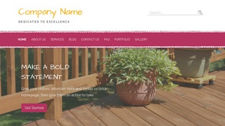 Scribbles Patio Builder and Supplier WordPress Theme