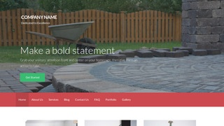 Activation Paving Contractor WordPress Theme