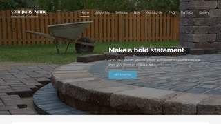 Lyrical Paving Contractor WordPress Theme