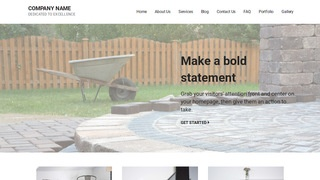 Mins Paving Contractor WordPress Theme