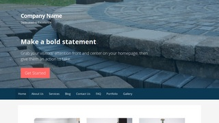 Primer Paving Contractor WordPress Theme