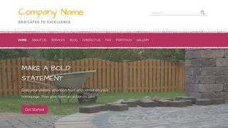 Scribbles Paving Contractor WordPress Theme