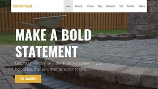 Stout Paving Contractor WordPress Theme