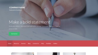 Activation Payroll Service WordPress Theme