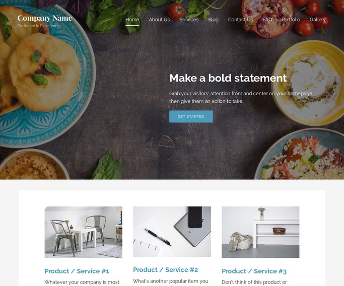 Lyrical Persian or Iranian Restaurant  WordPress Theme