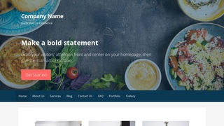 Primer Persian or Iranian Restaurant  WordPress Theme