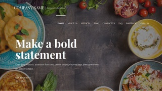Velux Persian or Iranian Restaurant  WordPress Theme
