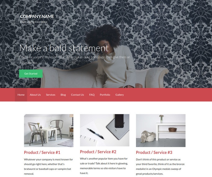 Activation Personal Website WordPress Theme