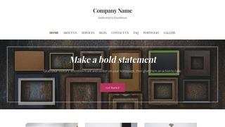 Uptown Style Art and Design WordPress Theme