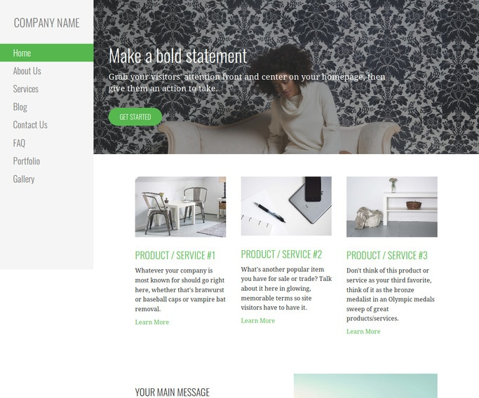 Escapade Personal Website WordPress Theme