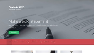 Activation Portfolio WordPress Theme