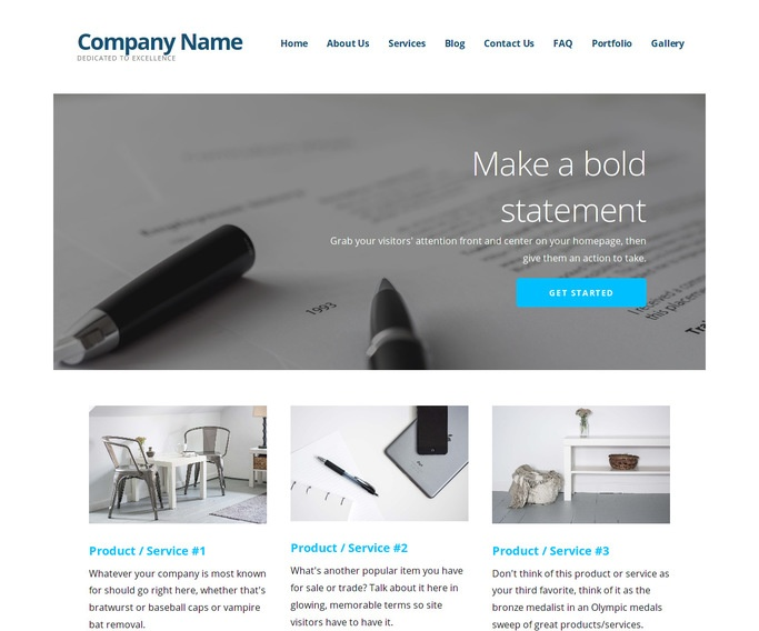 Ascension Portfolio WordPress Theme