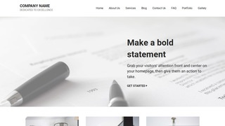 Mins Portfolio WordPress Theme